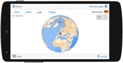 Virtueller Globus - Virtual globe - Globo virtual - Globe virtuel